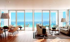 Living Room Blue Contemporary Residence Boca Raton Florida Contemporary Living Room