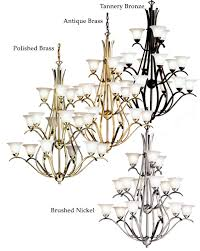 kichler 2523 dover extra large 15 light triple tier transitional 45 inch tall chandelier lighting loading zoom
