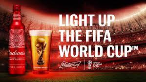Bud Light Glass Light Up Budweiser Light Up The Fifa World Cup European
