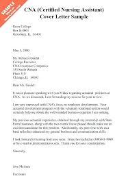 Assistant Cover Letter Sample Cna Cover Letter Example Certified Nursing Assistant Cover Letter