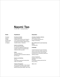 Good Design Resume Slightly Boring But Good Use Of White Space L A Y O U T S
