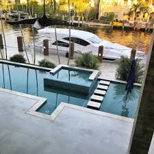 Pool Design Miami Pool With A View The Rectangular Pool Design Overlooking