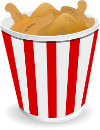 bucket of fried chicken clipart. Chicken Fried Wings Food Inside Bucket Of Clipart UbiSafe