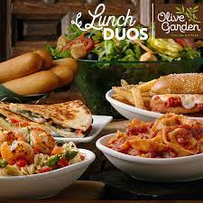 olive garden lunch duos patriot place