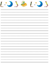 Lined writing paper for students   reportspdf    web fc  com