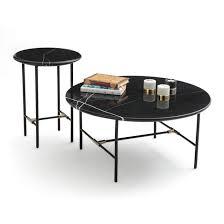 botello marble coffee table black la