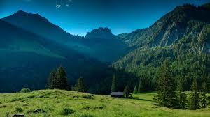 Free photo: Lush Green Mountain ...