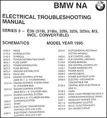 1995 bmw 318i s c 320i 325i s c m3 electrical troubleshooting manual this manual covers us and canadian 1995 bmw 318i s c 320i 325i s c and m3 models this book is in good used condition measures 11 in x 8 5 in and is