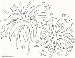 Small Picture Enjoyable Design Ideas Fireworks Coloring Pages At Firework itgodme