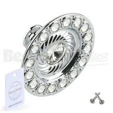 crystal furniture knobs. Genuine Swarovski Crystal Round Knob Handle Furniture Knobs