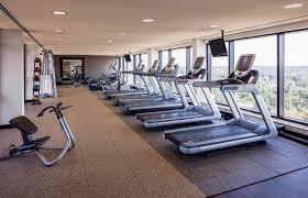 fitness exercise room hilton hotel shreveport