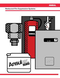 Ansul R 102 Nozzle Chart Ansul R 102 Restaurant Fire Suppression Systems F 8879