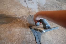 how to grout tile swipe