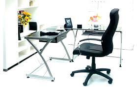 white glass top computer desk new furniture