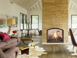 Stylish Country Living Room Design Ideas With Amusing Neutral Gas Fireplace Ideas