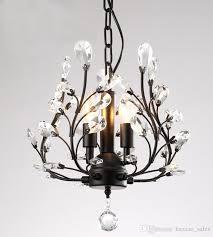 black gold crystal chandeliers vintage past crystal lights for living room dining room lamp led k9 crystal chandeliers hanging lights from ceiling