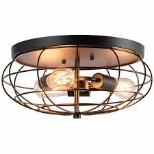 semi flush mount ceiling light with