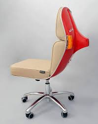 recycled vespa office chairs. brilliant office office chair red vespa motor scooters share recycling for recycled vespa office chairs v