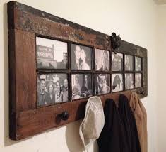 Door Hanging Coat Rack Old French Door Repurposed as DIY Coat Rack Coat racks Repurposed 6