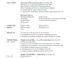 Objective For A College Student Resume Sample Resume Objectives For