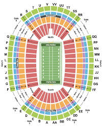 Nevada Wolfpack Football Stadium Seating Chart Aloha Stadium Seat Views Att Stadium Seat View