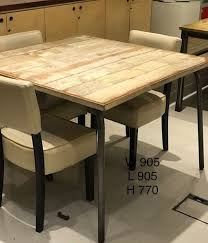 used industrial furniture. Industrial Style Long Wooden Table - Soho, London Used Furniture I