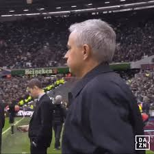 Asked how difficult it will be for the players to adjust following mourinho's departure, rooney replied: Watching Jose Mourinho Gif By Dazn North America Find Share On Giphy