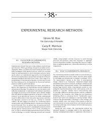 Simple True Experimental Design Pdf Experimental Research Methods