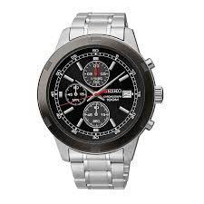 seiko watches men s ladies kinetic and solar h samuel seiko men s stainless steel chronograph bracelet watch product number 2316692