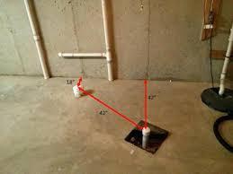 bathroom plumbing rough in basement 8 toilet diagram n3