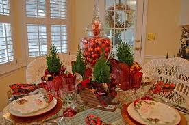 christmas banquet table centerpieces. Christmas Banquet Table Centerpieces For Popular Setting Tablescape With A Santa Claus I