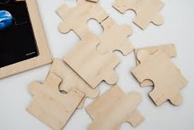 how to make no smudge diy chalkboard puzzles using recycled wooden puzzles free craft tutorial