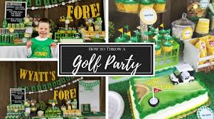 How To Throw A Golf Birthday Party Wyatts Fore A Cotton Kandi Life