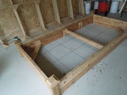 picture of cedar raised planter beds built for square foot gardening