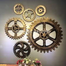 vintage gold gear fabulous wall decor gears