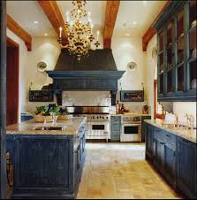 Rustic Kitchen Cabinets How To Use Black Distressed Cabinets In Rustic Kitchen Cliff Kitchen