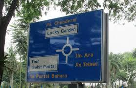 bangsar s lucky garden kuala