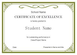 Best Certificate Templates Simple Certificate Templates Under Fontanacountryinn Com