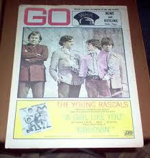 Whk Go Magazine 1967 Rolling Stones Byrds Beach Boys Blues