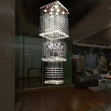 luxurious lighting. LED Ceiling Crystal Pendant Lamps Light Lighting 8 Lights Modern Luxurious Silver Canpoy K9 Clear I