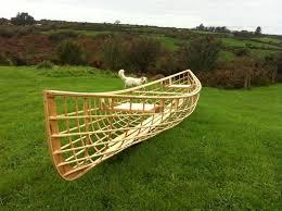 16 snowshoe skin on frame canoe
