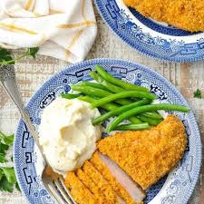 oven fried breaded pork chops the