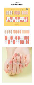 DASHING DIVA Gloss Gel Nail Strip 1ea[Spring of goddess] | Best Price and  Fast Shipping from Beauty Box Korea