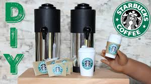starbucks coffee craft diy american girl doll