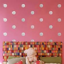 vinyl removable polka dot wall stickers