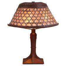 i just discovered this gustav stickley table lamp 504 on liveauctioneers and wanted