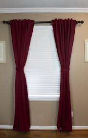 denning solid blackout tab top curtain panels