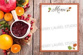 Free Thanksgiving Templates 25 Thanksgiving Menu Templates Free ...