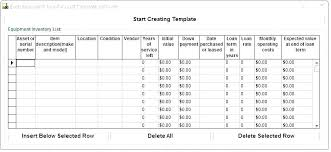 It Asset Inventory Template Management Policy Free Excel