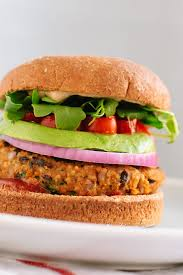 sweet potato and black bean veggie burgers vegan and gluten free